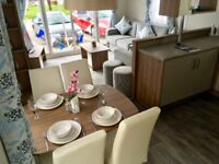 WOW!!! STUNNING BRAND NEW STATIC CARAVAN FOR SALE AT COOPERS BEACH!