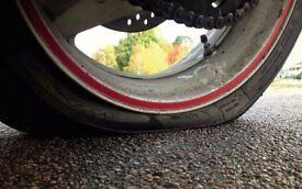 Emergency Puncture Repairs - Roadside Repairs