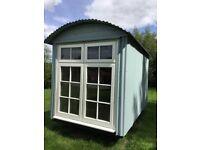 Beautiful Shepherds Hut/Garden Room, will consider swap for caravan