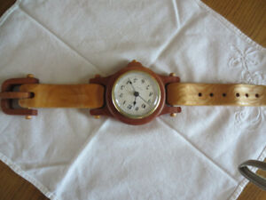 hand craft wood watch
