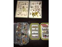 Over 100 Fishing Flies