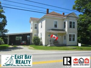 B&B potential in historical village just 2.5hrs from Halifax!