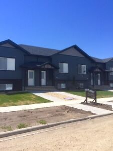 New Fully Developed Town Houses- Lacombe- NO CONDO FEES