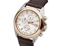 New Swiss Military Men's Quartz Watch RRP £445