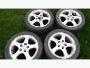 """4 - 16"""" Wheels and Tires. Need gone, open to any offers!"""