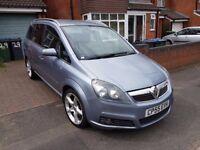 Vauxhall Zafira 1.9 Diesel 2005, Long MOT till May 2018, HPI Clear, Nice Clean Car