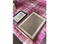 2 photo frames brand new never used