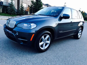 2011 BMW X5 DIESEL,7 PASSENGER,REAR VIEW, PANORAMIC, EXTRA CLEAN