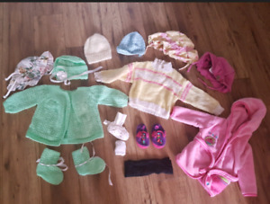 27 clothing items for girls size 6-12 months