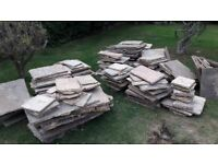 PAVING SLABS, NATURAL STONE SLABS, BULK LOT