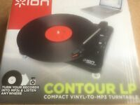 Contour LP Vinyl-to-MP3 Turntable