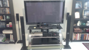 """50"""" HD, Model PM50 SAMSUNG with full Home Theatre - 4 speakers."""
