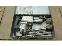Hammer drill 38mm. Fully working with case and accessories!Can deliver or post!