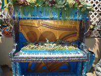 Piano for free - Convert to a Garden Planter - delivery £25.00 to your front garden (no steps)