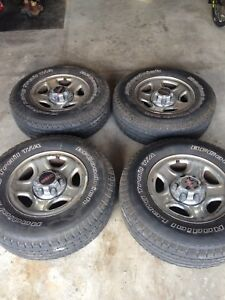 """16"""" all season tires and rims P235/ 75 R16"""