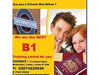 ENROLLING NOW - B1 ENGLISH COURSE FOR TAXI DRIVERS - SECURE YOUR ADMISSION