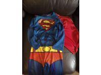 Kids clothes, superman dressing up