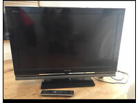"""Sony 32"""" HD tv with remote and stand. Good working condition"""