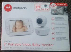 "Snuggle Nest camera 3,5 "" video monitor"