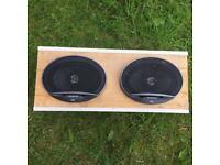 Fli 6x9 speakers