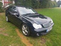 2006 MERCEDES C-CLASS 1.8 KOMPRESSOR **1 OWNER FROM NEW & FULL SERVICE HISTORY**