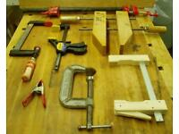 Woodworking clamps wanted