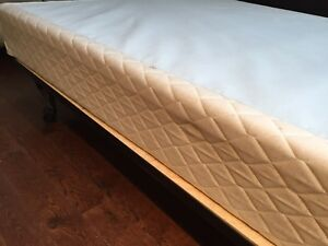 Double bed boxspring and frame
