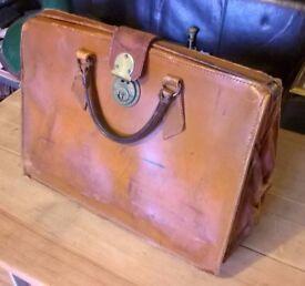 Vintage Leather Documents Case