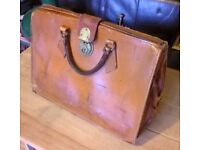 Vintage Leather Documents Case