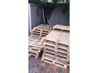 15-20 wooden pallets for Sale! Collection Only