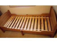 Adjustable single bed £30