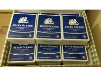 Seven Oceans Emergency Ration Pack - 2000 calories each. Expire Feb 2021. 21 individual packs.
