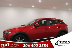 2016 Mazda CX-3 GT|AWD|Nav|Cam|Heated Leather|Red