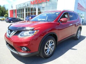 2014 Nissan Rogue SL AWD CUIR TOIT OUVRANT PANORAMIQUE  GPS