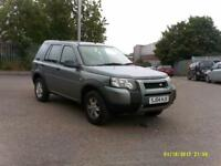 2004 04 LAND ROVER FREELANDER 1.8 E S/W VERY LOW 74K 11 MONTHS MOT