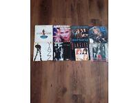 8 single records (45's)