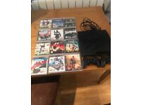 PS3 Console + 12 Great Games (Playstation 3)