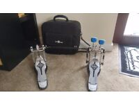 Mapex Double Bass Drum Pedal & Bag