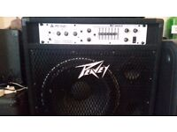 Peavey T Max 115 bass tube combo 350 watt @ 4 ohm