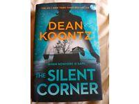 LATEST DEAN KOONTZ BOOK 'THE SILENT CORNER' HARDBAVK