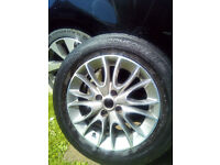 Fiat Grande Punto-GBT-Evo-Genuine Alloy Wheel-With Tyre-185x65x15-Ideal Spare