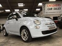 Fiat 500 1.2I POP / Air Conditioning / Alloy Wheels / Pale Blue Gloss Paint