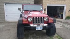 98 Jeep Tj sport $4000 as is OBO