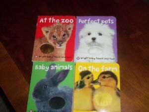 Bright Baby Touch and Feel books