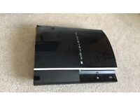 PlayStation 3 80GB with games