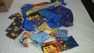 **REDUCED** LEGO MOVIE BEDDING LOT