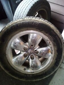 Stock ram 1500 rims with tires
