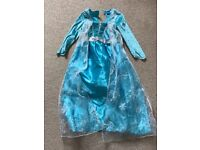 Frozen Elsa dress age 5-6yrs with flashing shoes
