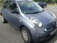 Nissan Micra Visia. 59 plate. Only 38500 miles