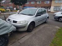 Renault megane. Spares or repairs.